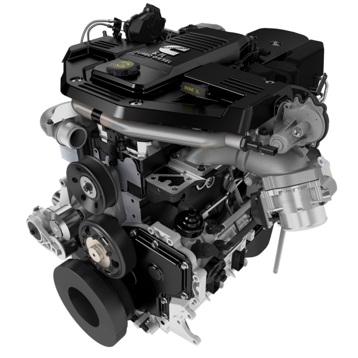 6.7 Cummins Diesel Engine